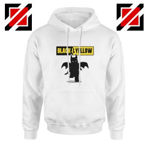 Batman Bat and Yellow Hoodie Dark Knight Film Hoodies S-2XL