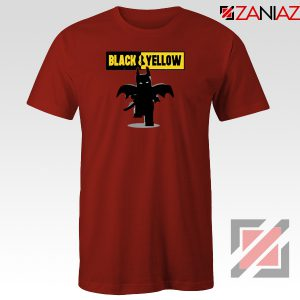 Batman Bat and Yellow Red Tshirt