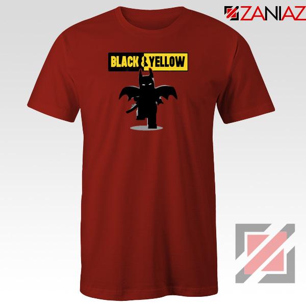 Batman Bat and Yellow Red Tshirt