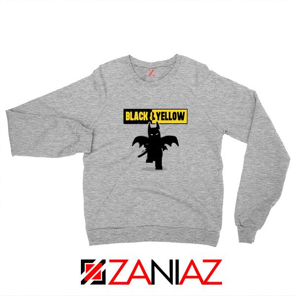 Batman Bat and Yellow Sweatshirt Dark Knight Film Sweaters