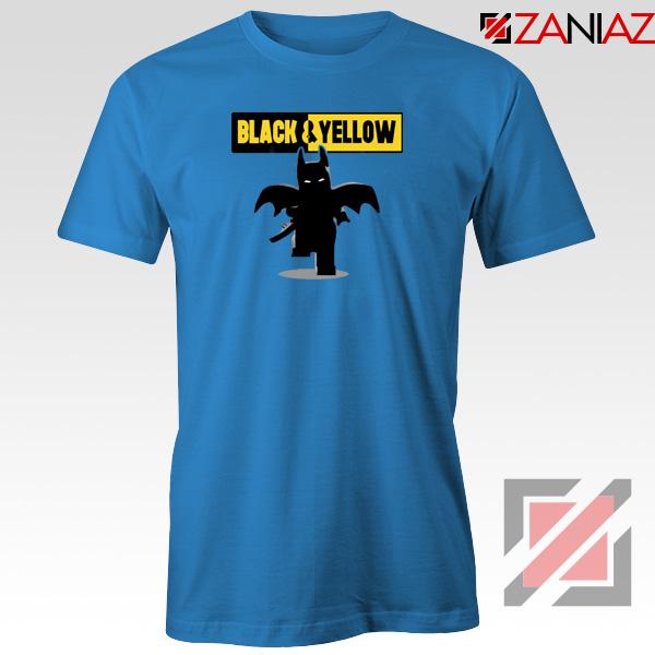 Batman Bat and Yellow Tshirt Dark Knight Film Tee Shirts S-3XL