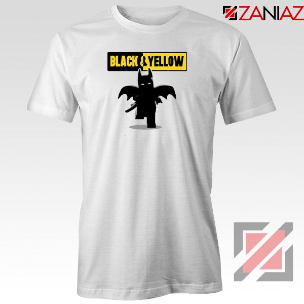 Batman Bat and Yellow White Tshirt