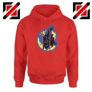 Batman Marvel Red Hoodie