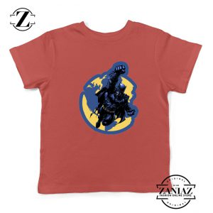 Batman Marvel Red Kids Tshirt