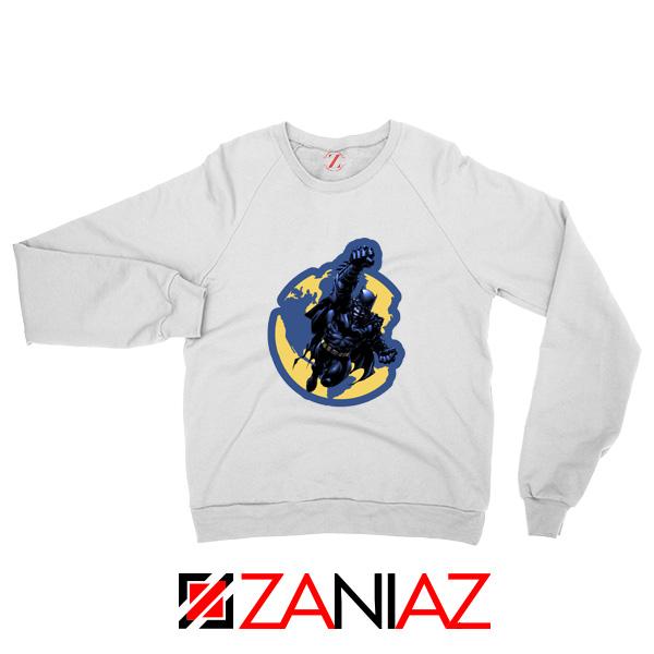 Batman Marvel White Sweatshirt