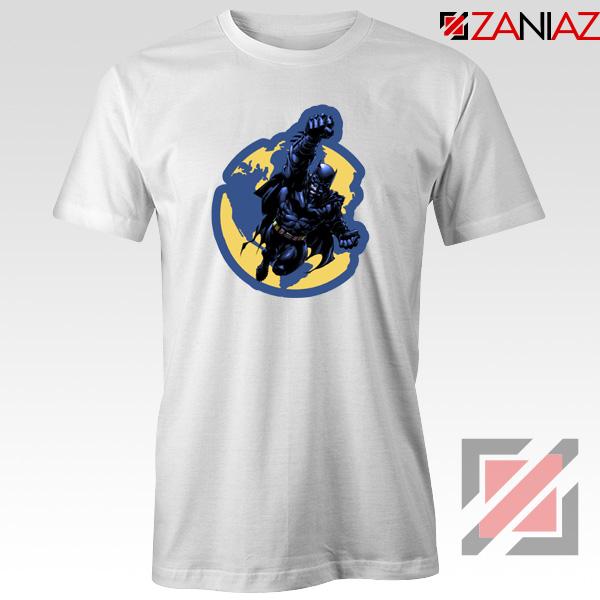 Batman Marvel White Tshirt