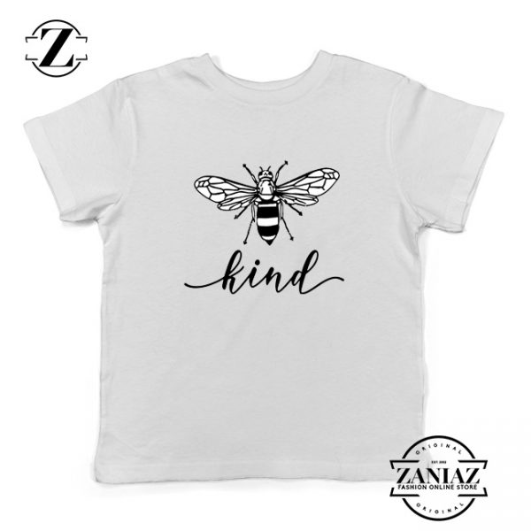 Be Kind White Kids Tshirt