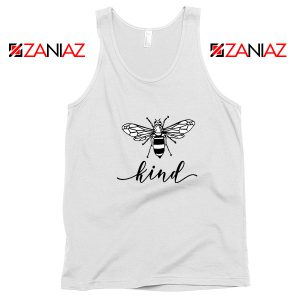 Be Kind White Tank Top