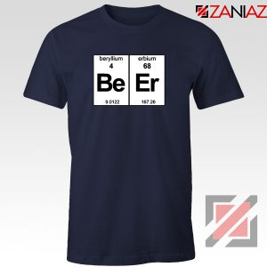 BeEr Chemistry T-Shirt Elemental Chemistry Tee Shirt Size S-3XL Navy Blue