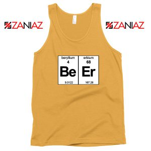 BeEr Chemistry Tank Top Elemental Chemistry Tank Top Size S-3XL