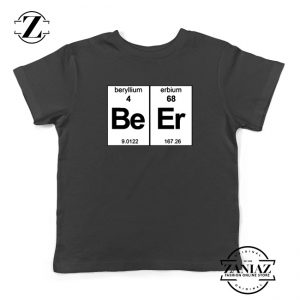 BeEr Chemistry Youth Shirts Elemental Chemistry Kids T-Shirt Size S-XL