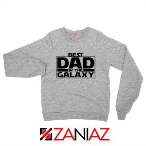 Best Dad In The Galaxy Sweatshirt Starwars Merch Sweater S-2XL