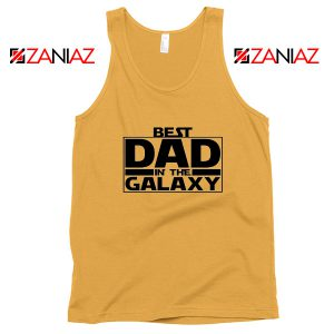 Best Dad In The Galaxy Tank Top Starwars Merch Tops S-3XL
