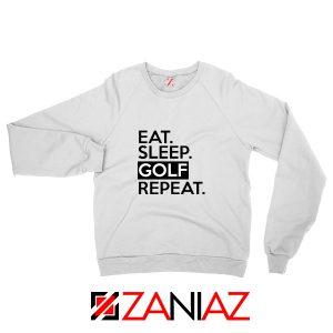 Best Golf Funny Quote Sweatshirt Golf Dad Sweatshirt Size S-2XL White