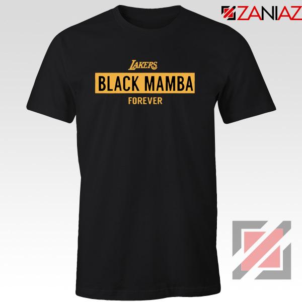 Black Mamba Los Angeles Lakers Tee Shirt Kobe Bryant Tees S-3XL
