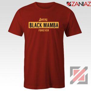 Black Mamba Red Lakers Tee Shirt