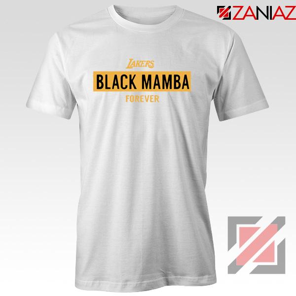 Black Mamba White Lakers Tee Shirt