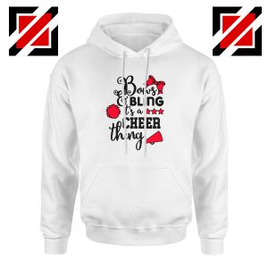 Buy Cheer Bling Hoodie Cheerleading Best Hoodie Size S-2XL White