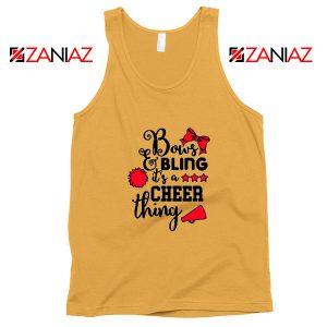 Buy Cheer Bling Tank Top Cheerleading Best Tank Top Size S-3XL Sunshine