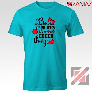 Buy Cheer Bling Tee Shirt Cheerleading Best T-Shirt Size S-3XL