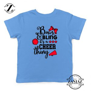 Buy Cheer Bling Youth Shirts Cheerleading Best Kids T-Shirt Size S-XL