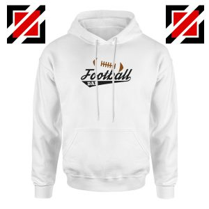 Buy Football Dad Hoodie Father Day Gift Best Hoodie Size S-2XL White