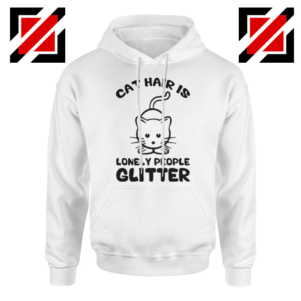 Buy Lonely People Glitter Hoodie Cat Lover Best Hoodie Size S-2XL