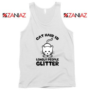 Buy Lonely People Glitter Tank Top Cat Lover Best Tank Top Size S-3XL
