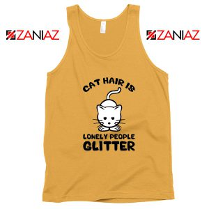 Buy Lonely People Glitter Tank Top Cat Lover Best Tank Top Size S-3XL Sunshine