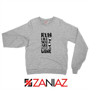 Buy Womens Running Sweatshirt Funny Gym Best Sweatshirt Size S-2XL