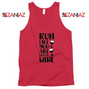 Buy Womens Running Tank Top Funny Gym Best Tank Top Size S-3XL Red