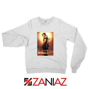 Cara Dune Poster Sweatshirt Star Wars The Mandalorian Sweaters S-2XL