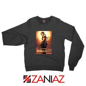 Cara Dune Poster Sweatshirt Star Wars The Mandalorian Sweaters S-2XL Black