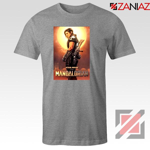 Star Wars The Mandalorian Cara Dune Poster T Shirt T Shirts Novelty Rayvoltbike Com