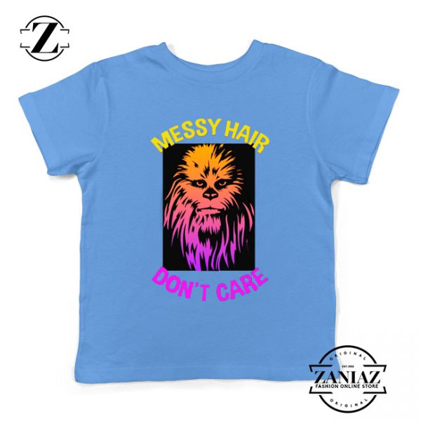 Chewbacca Youth Tshirt Star Wars Characters Best Kids Tee Shirts S-XL