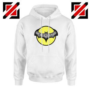 Dark Knight Graphic White Hoodie