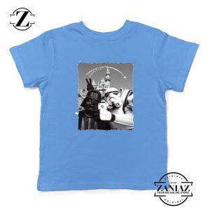 Darth Vader And Stormtrooper Kids Tshirt Disneyland Youth Tee Shirts S-XL