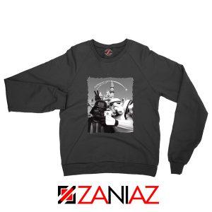 Darth Vader And Stormtrooper Sweatshirt Disneyland Sweater S-2XL Black