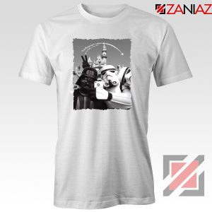 Darth Vader And Stormtrooper Tee Shirt Disneyland Tshirts S-3XL White