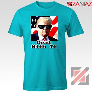 Deal With It Tshirt Donald Trump Quotes Tee Shirts S-3XL