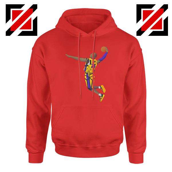 Dunk Kobe Bryant Red Hoodie