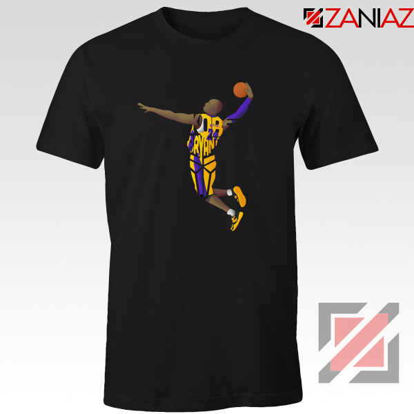 Dunk Kobe Bryant Tshirt American Basketball S-3XL