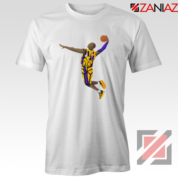 Dunk Kobe Bryant White Tshirt