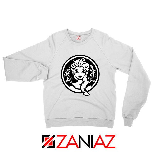 Elsa Frozen Sweatshirt Princess Disney Sweatshirts S-2XL White