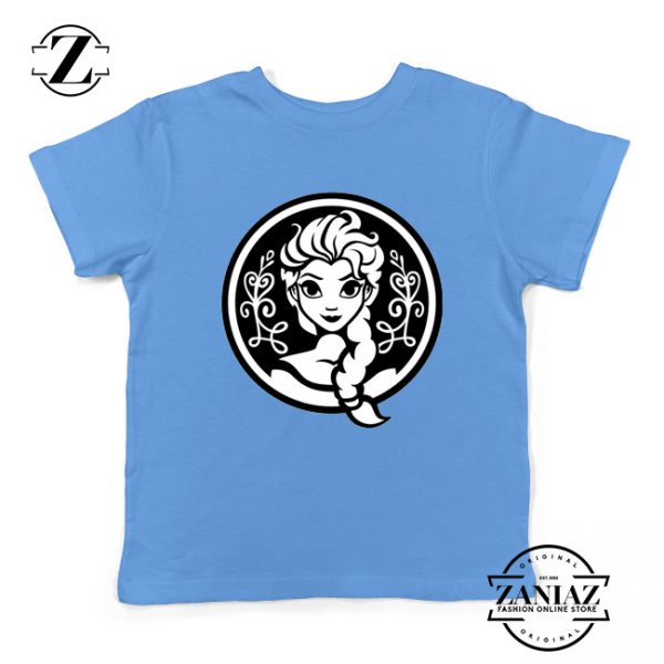 Elsa Frozen Youth Tee Shirt Princess Disney Clothes S-XL