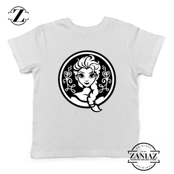 Elsa Frozen Youth Tee Shirt Princess Disney Clothes S-XL White