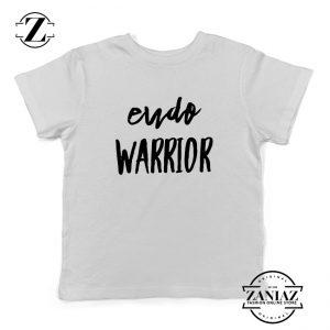 Endo Warrior White Kids Tshirt