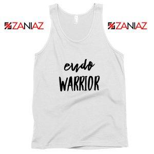 Endo Warrior White Tank Top