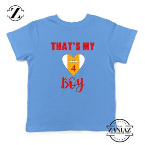 Football Kids Shirts for Women Football Season Youth T-Shirt Size S-XL