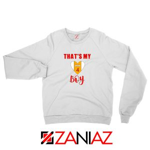 Football Sweatshirt for Women Football Season Sweatshirt Size S-2XL White